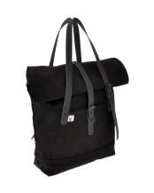 BLACK  THE ROLLTOP TOTE