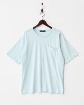 L.BLUE  BオーガニックコットンポケTシャツ(半袖)