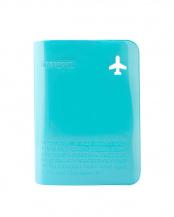 ブルー <br />H.Fパスポートカバー プラス