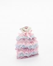 ピンク×ブルー×パープル FURIFURI3 巾着