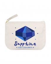 Sapphire/ September  バースストーンポーチ