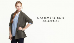 CASHMERE KNIT COLLECTIONのセールをチェック
