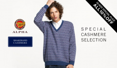SPECIAL CASHMERE SELECTIONのセールをチェック