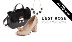 L'EST ROSE -SHOES & ACCESSORIES-のセールをチェック
