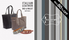 ITALIAN LEATHER BAG & WALLET and moreのセールをチェック