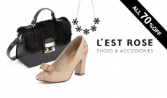 L'EST ROSE -SHOES & ACCESSORIES-のセールをチェック