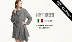 MODE FOURRURE ITALIAN APPAREL SELECTIONのセールをチェック