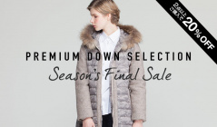 PREMIUM DOWN SELECTION SEASON'S FINAL SALEのセールをチェック