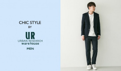 CHIC STYLE BY URBAN RESEARCH WAREHOUSE MEN(アーバンリサーチウエアハウス)のセールをチェック