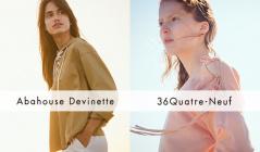ABAHOUSE DEVINETTE/36 QUATRE-NEUF(アバハウス・ドゥヴィネット)のセールをチェック