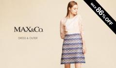 MAX&CO. DRESS & OUTER(マックスアンドコー)のセールをチェック