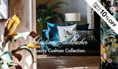 CHRISTIAN FISCHBACHER - Luxury Cushion Collection(クリスチャン・フィッシュバッハ)のセールをチェック