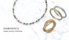 GORGEOUS ‐Italian jewelry Collection-のセールをチェック