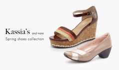 KASSIA'S and more Spring shoes collectionのセールをチェック
