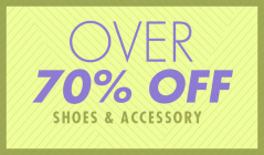 OVER70%OFF -SHOES & ACCESSORY -のセールをチェック