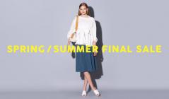 SPRING/SUMMER FINAL SALEのセールをチェック