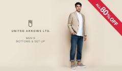 UNITED ARROWS MEN'S BOTTOMS&SET UP(ユナイテッドアローズ)のセールをチェック