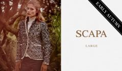 SCAPA LARGE_EARLY AUTUMN(スキャパ)のセールをチェック