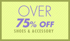 OVER 75%OFF -SHOES&ACCESSORY-のセールをチェック