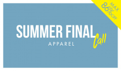 SUMMER FINAL CALL -APPAREL-のセールをチェック
