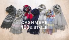CASHMERE 100% STOLEのセールをチェック