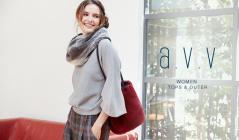 a.v.v WOMEN -TOPS & OUTER-(アーヴェヴェ)のセールをチェック