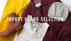 IMPORT BRAND SELECTION MENのセールをチェック