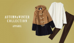 AUTUMN&WINTER COLLECTION -APPAREAL-のセールをチェック