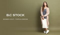 B.C STOCK WOMEN KNIT, TOPS & DRESS(ベーセーストック)のセールをチェック