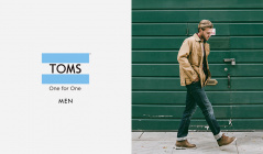 TOMS MEN(トムス)のセールをチェック