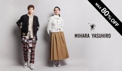 MIHARAYASUHIRO WOMEN and MEN(ミハラヤスヒロ)のセールをチェック