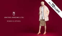 UNITED ARROWS WOMEN'S APPAREL(ユナイテッドアローズ)のセールをチェック