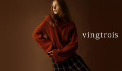 VINGTROIS KNIT COLLECTIONのセールをチェック