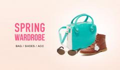 SPRING WARDROBE-BAG & SHOES & ACC-のセールをチェック