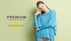 PREMIUM KNIT COLLECTION - MANYMERRY -のセールをチェック