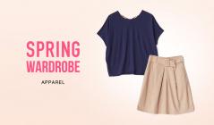 SPRING WARDROBE -APPAREL-のセールをチェック