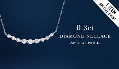 0.3ct  DIAMOND NECLACE  -SPECIAL PRICE-のセールをチェック