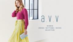 a.v.v Women DRESS, BOTTOM & SHOES SELECTION(アーヴェヴェ)のセールをチェック