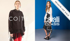 CAVALLI CLASS / COTE and more_OFF SEASON ITEMのセールをチェック