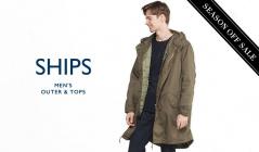 SHIPS MEN'S OUTER & TOPS_OFF SEASON ITEM(シップス)のセールをチェック