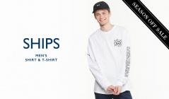 SHIPS MEN'S SHIRT & T-SHIRT(シップス)のセールをチェック
