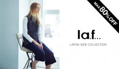 LA.F... LARGE SIZE(ラ・エフ)のセールをチェック