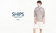SHIPS OUTLET MENのセールをチェック