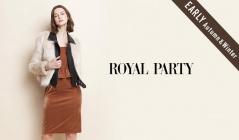 ROYAL PARTY_EARLY AUTUMN & WINTER(ロイヤルパーティー)のセールをチェック