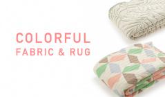 COLORFUL FABRIC & RUGのセールをチェック