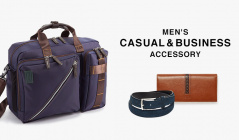 MEN'S CASUAL&BUSINESS ACCESSORYのセールをチェック