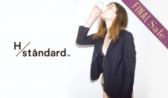 H/STANDARD_FINAL SALE_APPAREL(アッシュ・スタンダード)のセールをチェック
