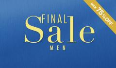 FINAL SALE - MEN'S-のセールをチェック