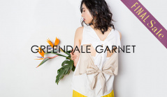GREENDALE GARNET SUMMER FINAL SALEのセールをチェック