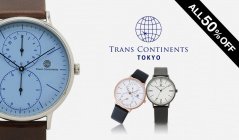 TRANSCONTINENTS WATCH SELECTIONのセールをチェック